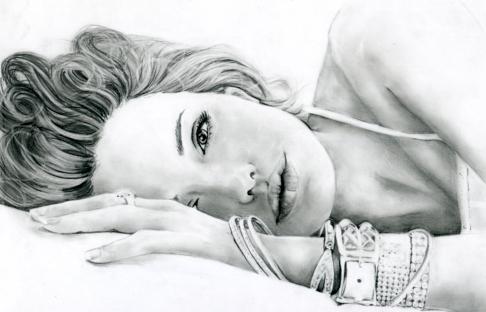 Angelina Jolie por Mayumi